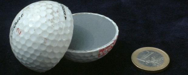 Golf Ball Inside View - How Golf Balls Work