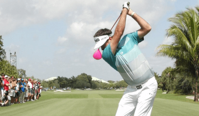 Bubba Watson at Hero World Challenge