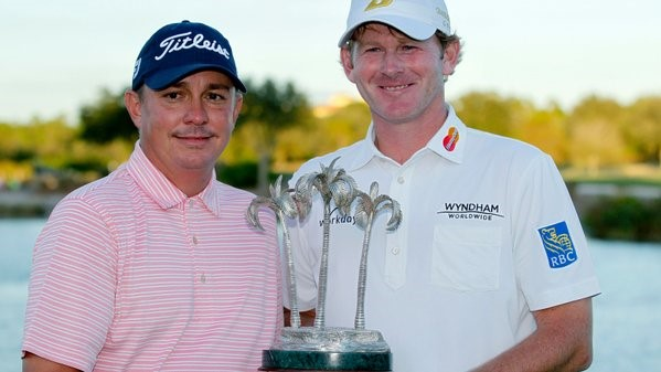 Jason Dufner and Brandt Snedeker at the Franklin Templeton Shootout