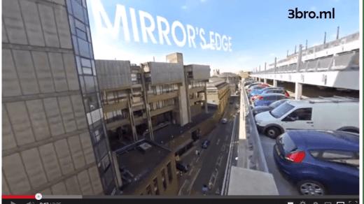 [影片分享]採用第一身拍攝的刺激飛躍道短片 - Mirror's Edge Parkour POV 1