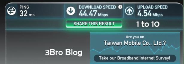 [專題]台灣無限4G LTE WiFi蛋測試(1 to 10、WiFi-Taiwan、PocketWiFi) 5