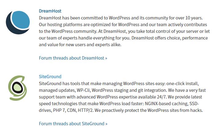 2018年最推薦的虛擬網頁主機空間:SiteGround 6