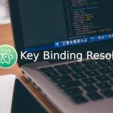 [教學] 如何打開 / 關閉 Atom 上的 Key Binding Resolver 2