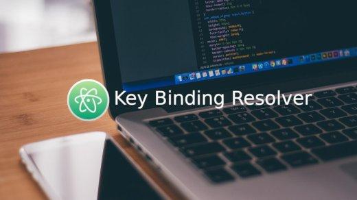 [教學] 如何打開 / 關閉 Atom 上的 Key Binding Resolver 1