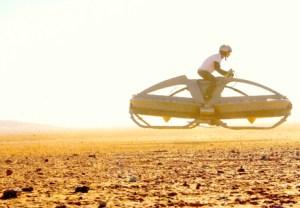Aerofex lanza la primera moto voladora, similar al modelo de Star Wars