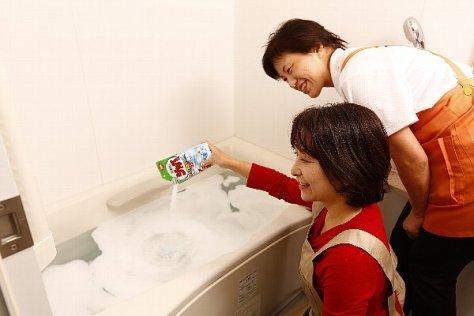 【かくれ汚れNo.1の風呂の追いだき配管は洗浄剤を使えば除菌もできる!】