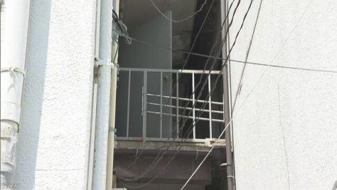 職務質問受けていた男性 3階から飛び降り死亡 大阪
