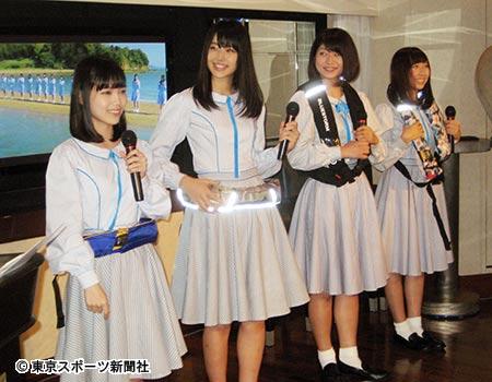 イベントに出席したSTU48メンバー