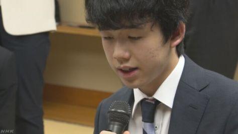 藤井四段 連勝止まるもタイトル獲得最年少記録更新など期待