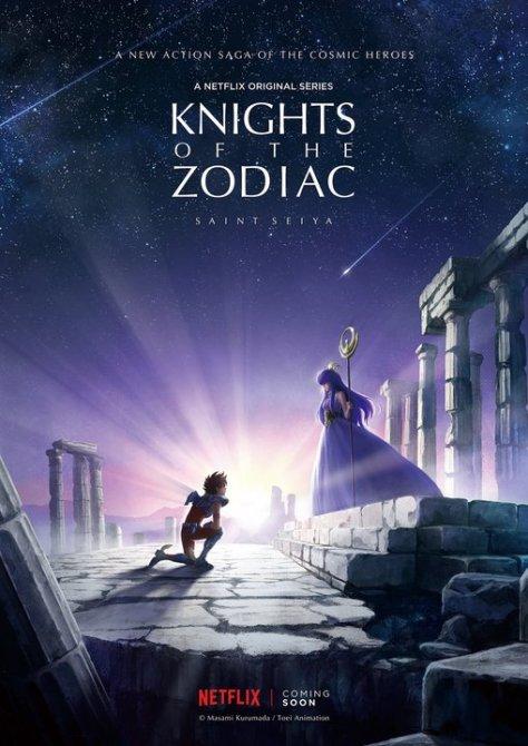「Knights of the Zodiac: 聖闘士星矢(仮題)」のビジュアル(C)Masami Kurumada/ Toei Animation