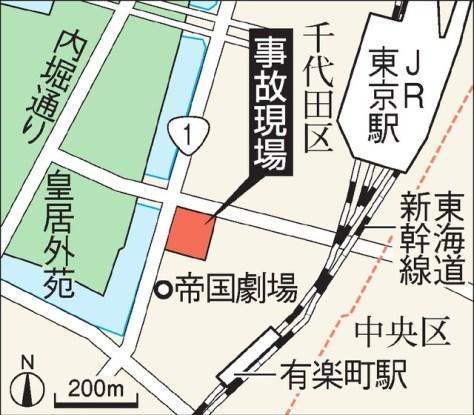 現場周辺の地図
