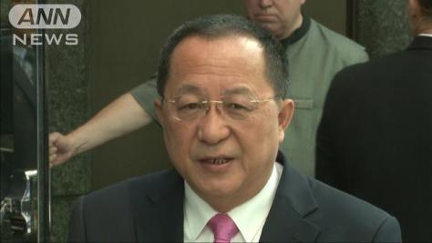 北朝鮮外相 米大統領発言は「明らかな宣戦布告だ」