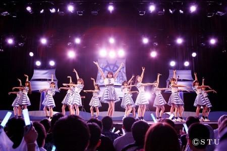 メンバー16人が出演したSTU48初のコンサートツアー・岡山公演