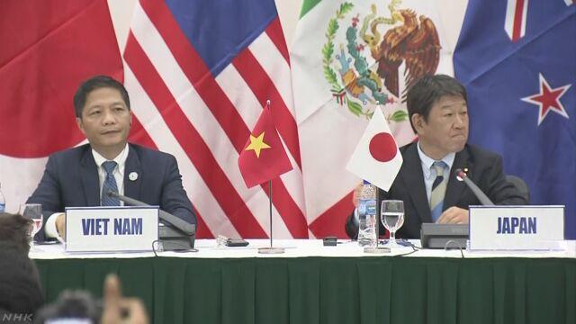 TPP新協定を公表 米離脱で20項目の凍結など明記 | NHKニュース