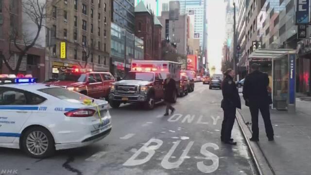 米ニューヨークで爆発 容疑者と見られる男を拘束