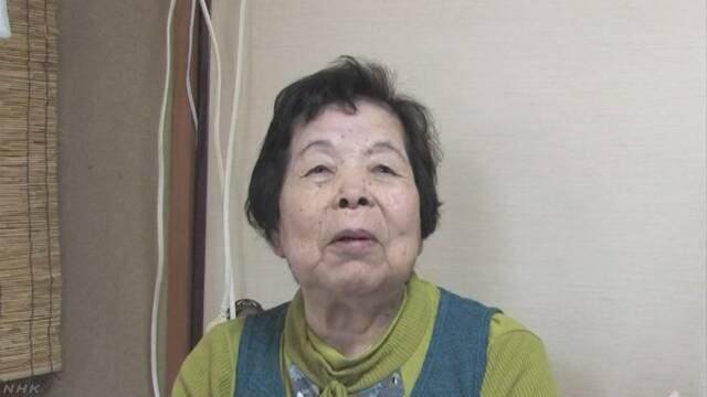 拉致被害者 増元るみ子さん母親 信子さん(90)死去   NHKニュース