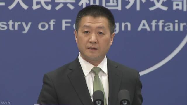中国報道官「日本は島の問題でもめごと起こすな」 | NHKニュース