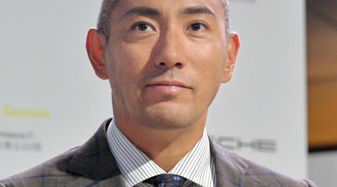 歌舞伎俳優の市川海老蔵
