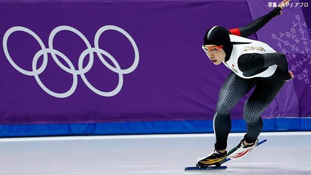 小平が銀 高木美帆が銅 スピードスケート女子1000m
