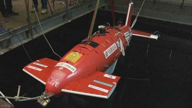 水深4000メートルの深海探査レース 日本チーム決勝へ | NHKニュース