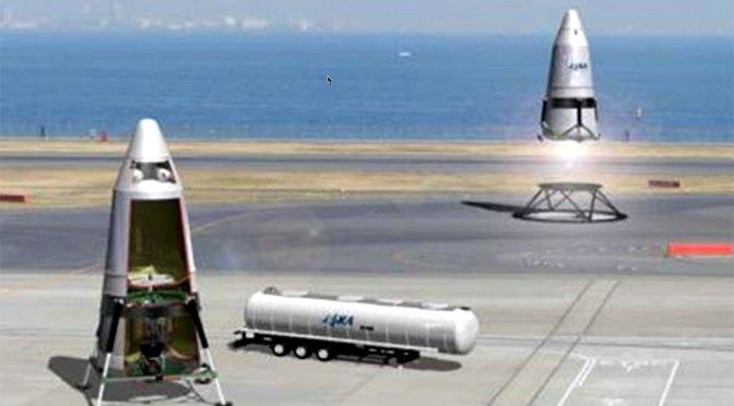 JAXA、「再使用型ロケット」実験へ 打ち上げ費用大幅抑制 – FNNプライムオンライン