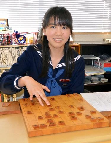 プロの女流棋士になる水町みゆさん。「最終的には女流タイトルに挑戦できるくらいに強くなりたい」と抱負を語る