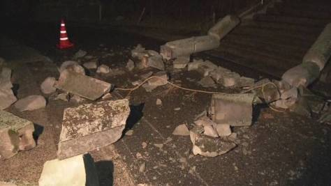 震度5強 島根県内で被害