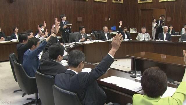 成人年齢は18歳に 民法改正案が賛成多数で可決 参院法務委 | NHKニュース