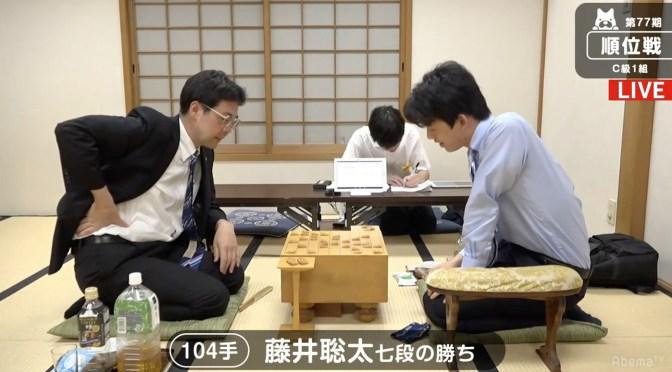 藤井聡太七段、16歳初勝利 森下卓九段下し順位戦C級1組2連勝