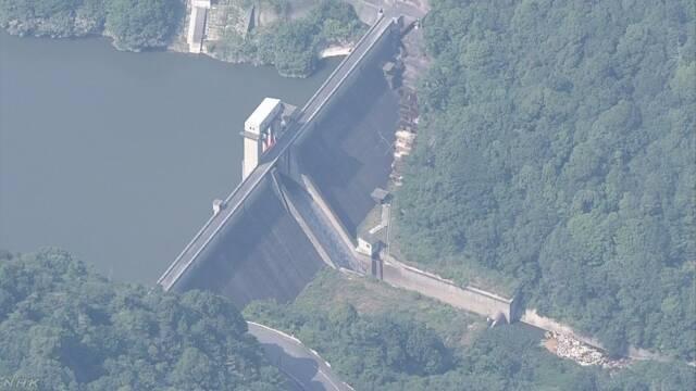 豪雨時のダム緊急放流 規定量を超えていた 広島 呉   NHKニュース
