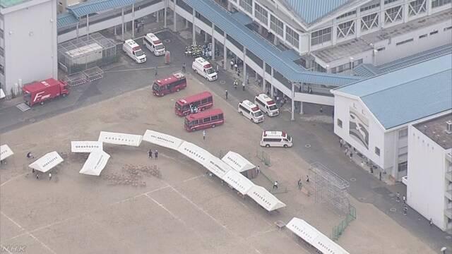 低体温症か 高校生30人が体育大会で体調不良訴え搬送 福岡 | NHKニュース