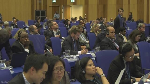 IAEA 北朝鮮に非核化の行動求める決議を採択 | NHKニュース