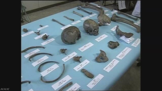 鳥取の遺跡の人骨 弥生時代後期に渡来か DNAで判明