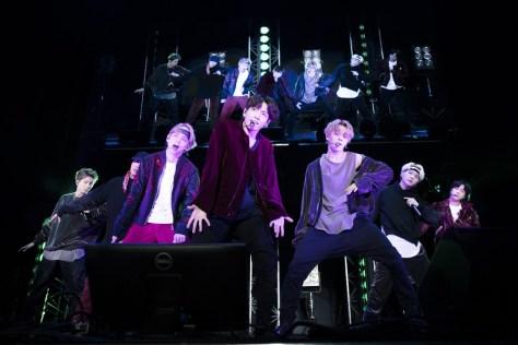 韓国のヒップホップグループ「BTS(防弾少年団)」(左から)RM、J−HOPE、V、JUNG KOOK、JIMIN、SUGA、JIN