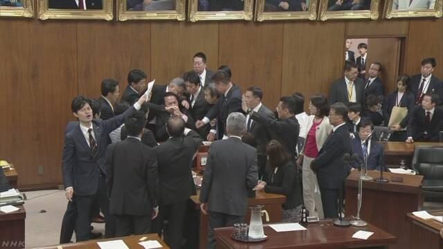 外国人材受け入れ拡大法案 衆院法務委員会で可決   NHKニュース