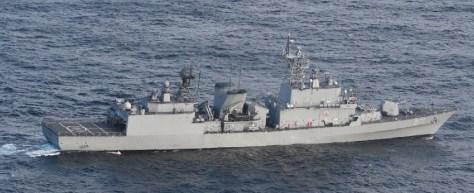 韓国海軍艦艇「クァンゲト・デワン」(971)