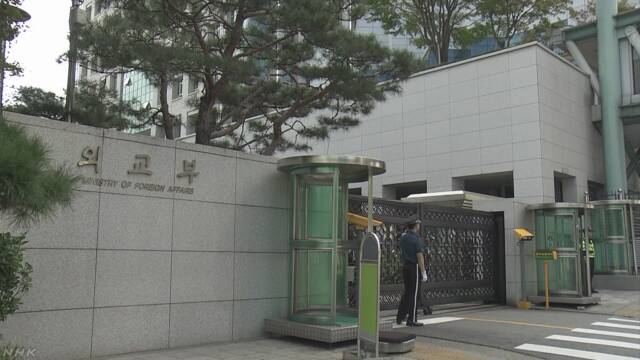 「徴用」問題で韓国「忍耐を持って見守ってほしい」 | NHKニュース