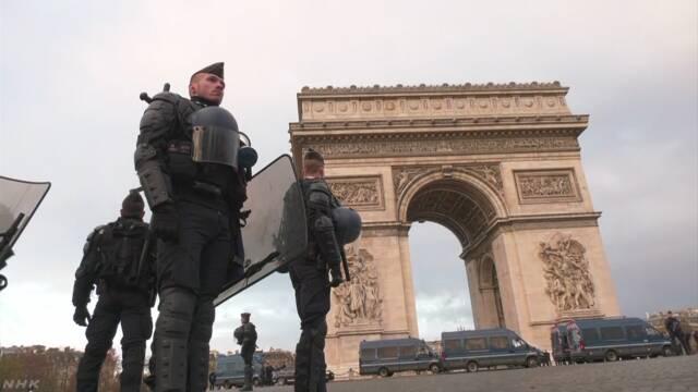 フランス全土で再び反マクロン政権デモ 700人拘束 | NHKニュース
