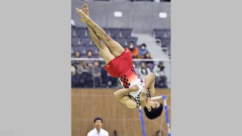白井健三 得意のゆかで4連覇 体操国際大会