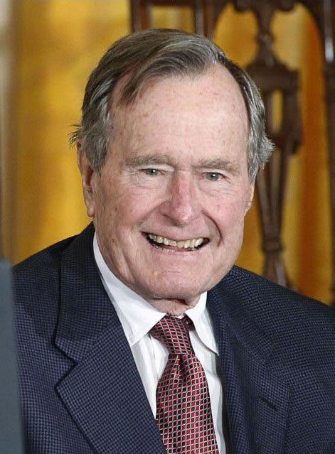 死去したジョージ・H・W・ブッシュ元米大統領(ロイター=共同