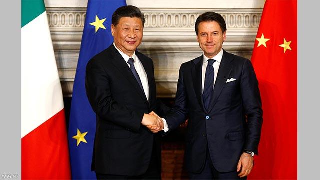 「一帯一路」中国とイタリアが覚書 G7で初 | NHKニュース