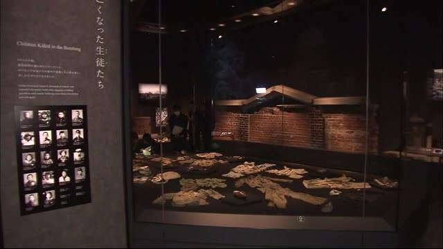 原爆資料館「本館」 25日にリニューアルオープン