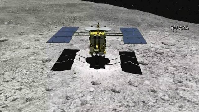 「はやぶさ2」 きょう小惑星「リュウグウ」に降下開始予定