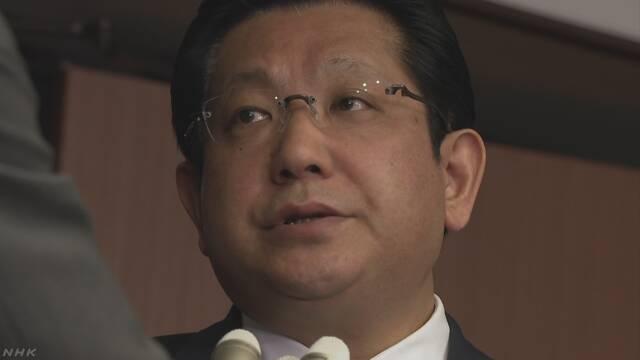 「そんたく発言」塚田副大臣 責任取り辞任 | NHKニュース
