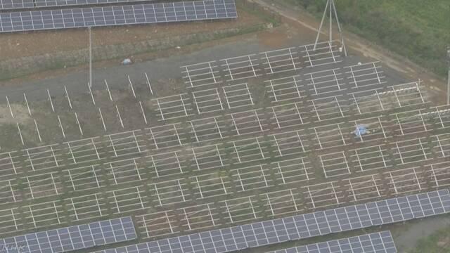 ソーラーパネル1700枚余盗まれる 栃木 那須町 | NHKニュース