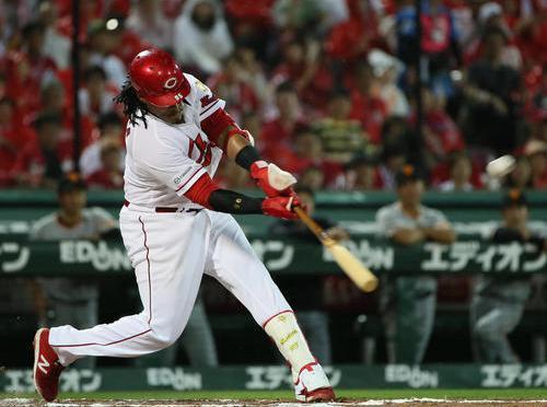 広島バティスタ2年連続20本塁打「完璧です」 – プロ野球 : 日刊スポーツ