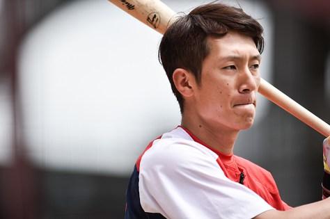 広島の1番・西川龍馬は7月にプロ野球史上初の4カード連続で先頭打者ホームランを記録した。