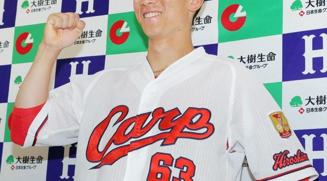 【広島】西川、月間MVP初受賞!1番で42安打「ホンマに僕でいいんかな」