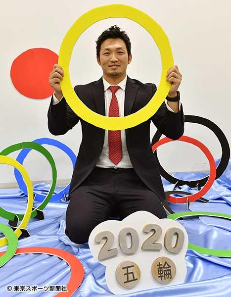 チームの日本一と五輪での金メダル取りへ意気込む鈴木