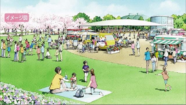 旧球場跡地は「イベント広場」に 広島市がイメージ公開 | 広島ニュースTSS